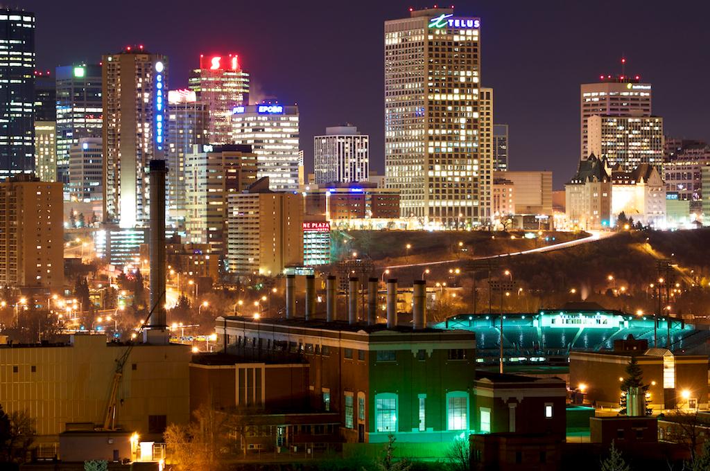 Edmonton-Nightscape