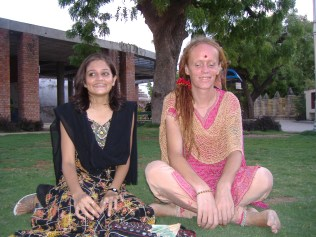 moi in the temple gardens with my friend