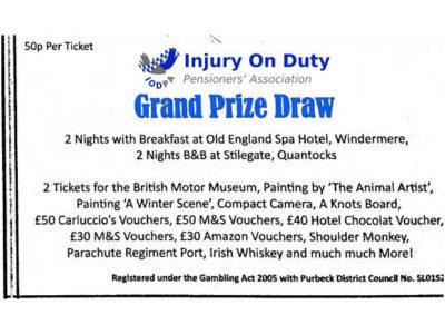 IODPA Grand Prize Draw
