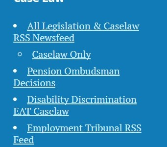 Introducing Our Live Employment Tribunal Search Feed