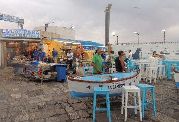 Gallipoli e il mercato del pesce