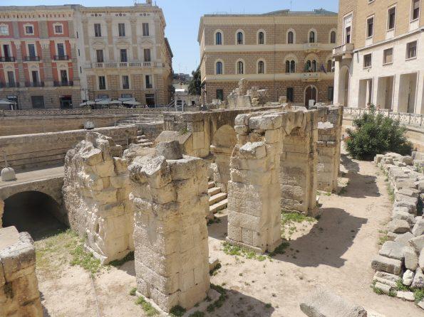 Resti del Teatro Romano di Lecce