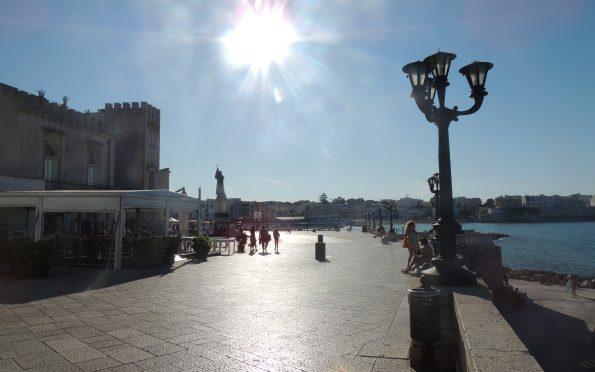 Il lungomare di Otranto