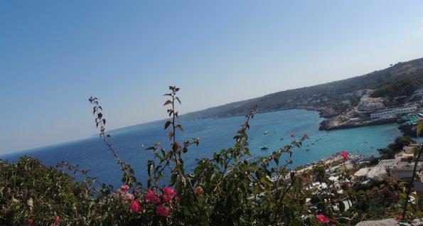 Panoramica lungo la costa