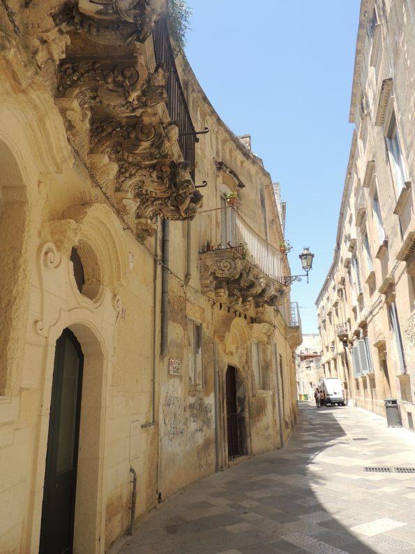 Dettagli in stile barocco a Lecce