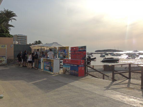 Vendita biglietti x Formentera a Playa d'En bossa