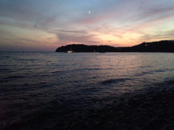 Il mare visto dal Blu Marlin