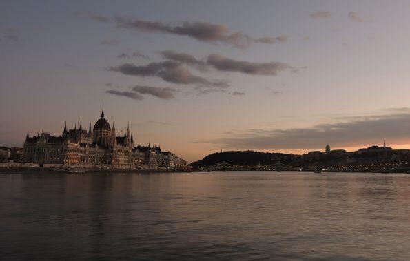 Il crepuscolo sul Danubio