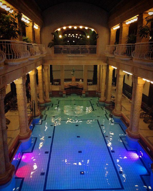 Le terme dell'Hotel Gellert