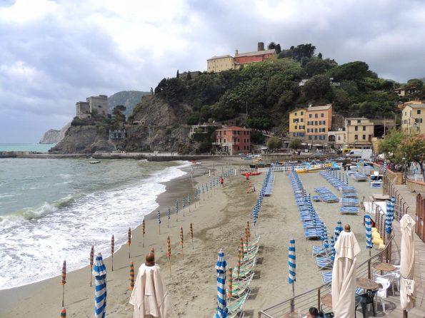 La spiaggia di Monterosso