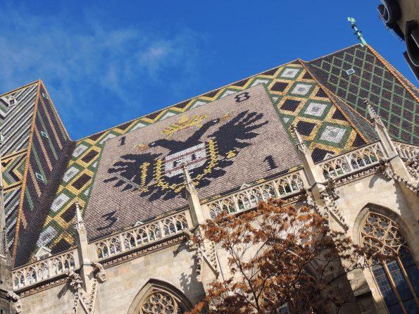 Un'altra foto del tetto di Stephansdom