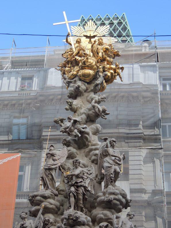 Pestsaule, eretta per celebrare la fine dellepifemia di peste in città