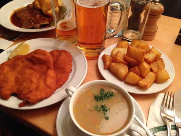Tipica cena Viennese