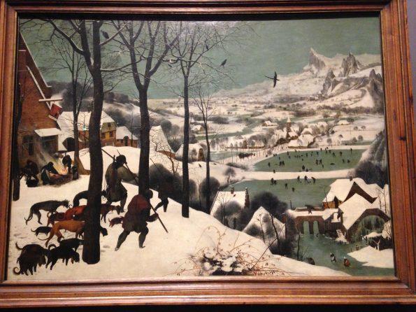 """Cacciatori nella neve"", Bruegel"