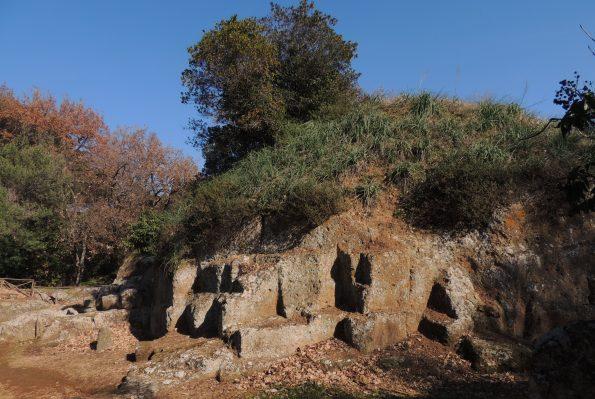 La necropoli etrusca della Banditaccia