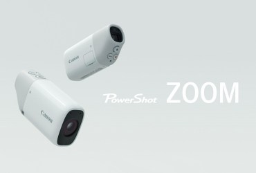 PowerShot ZOOM is a Pocket Telescope Camera by Canon
