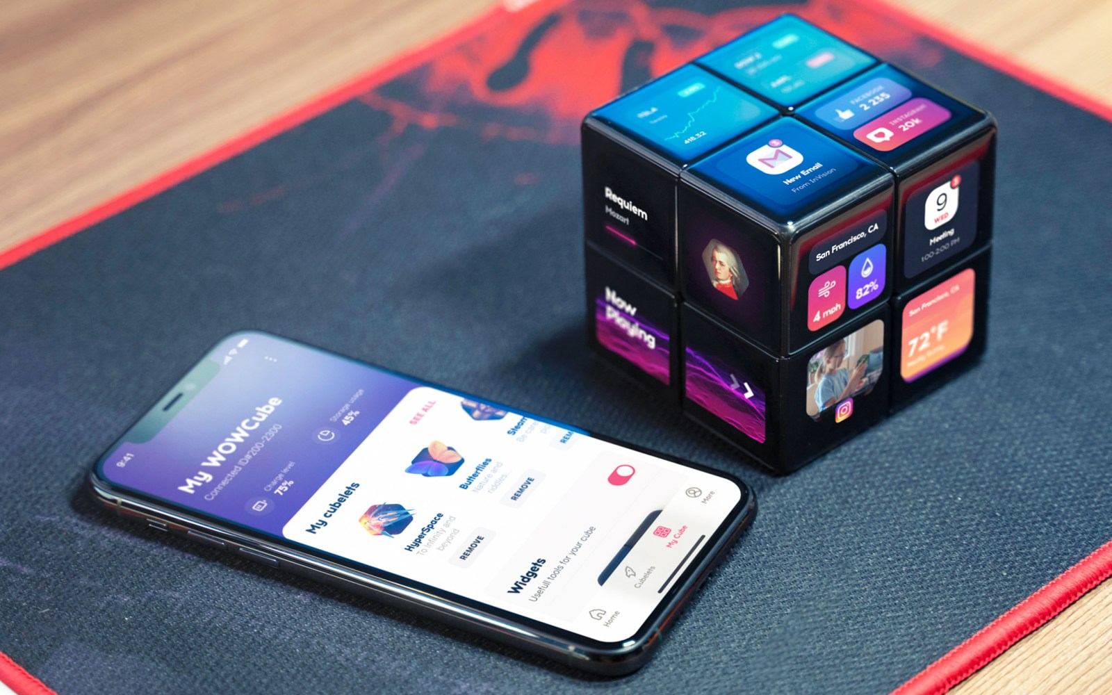 WOWCube Entertainment System is the Rubik's Cube of the future
