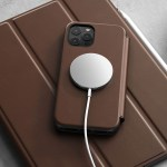 A rugged but elegant cover for iPhone 12: Nomad Rugged Folio MagSafe
