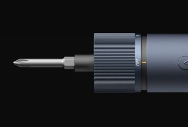 Xiaomi HOTO is a simple and stylish cordless screwdriver with 12 different bits