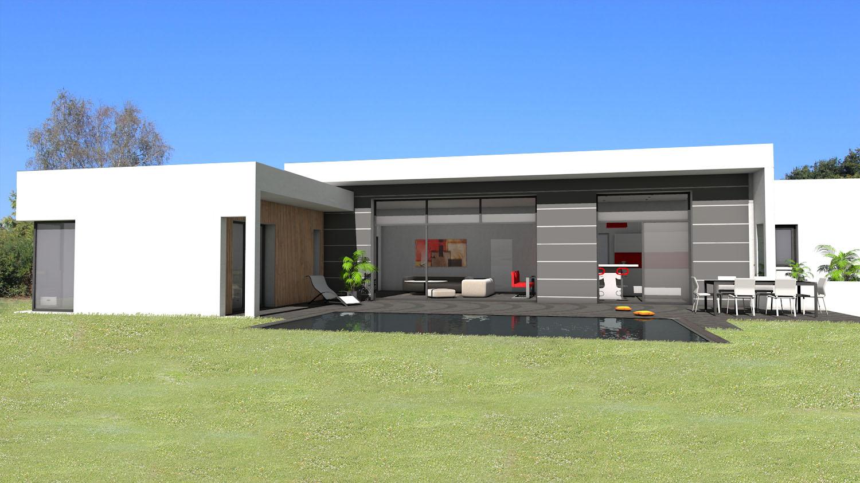 Maison Plain Pied Ultra Moderne · En ...