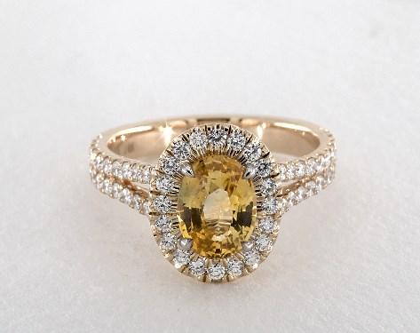 Yellow Sapphire Engagement Rings  Jamesallenm
