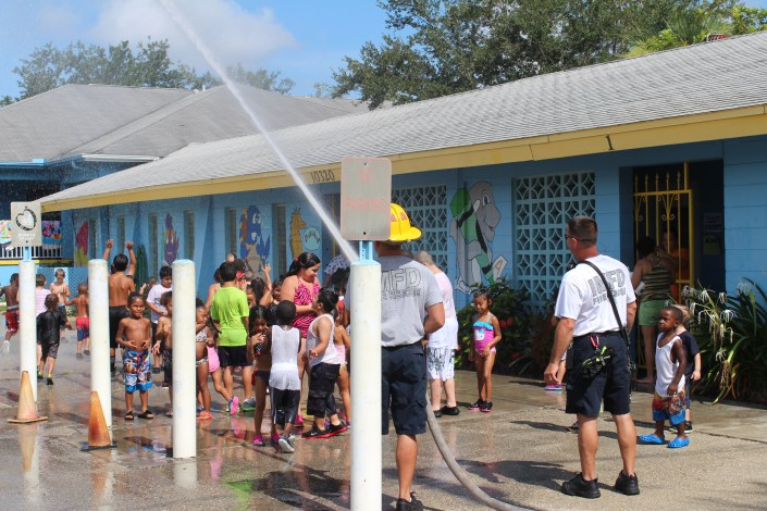 Iona McGregor Firefighters involved in the Community