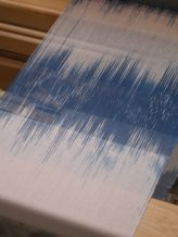 ikat on the loom
