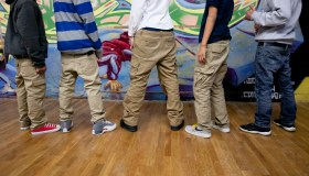 Teens Wearing Sagging Pants