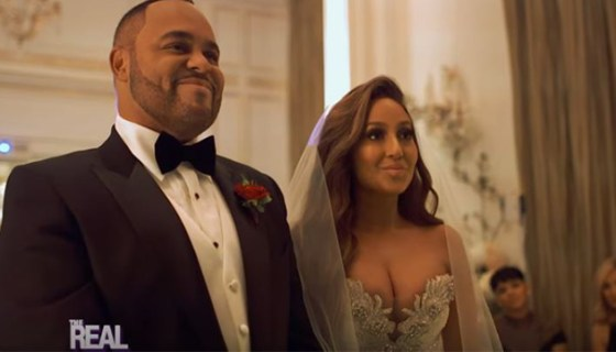 Adrienne Bailons Husband Reportedly Facing Foreclosure