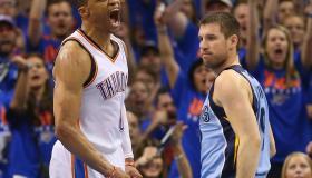 Memphis Grizzlies v Oklahoma City Thunder - Game Seven