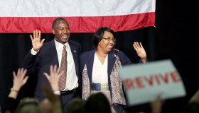 GOP Presidential Candidate Ben Carson Campaigns In Ohio