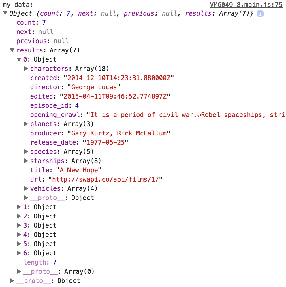 ionic-json-result
