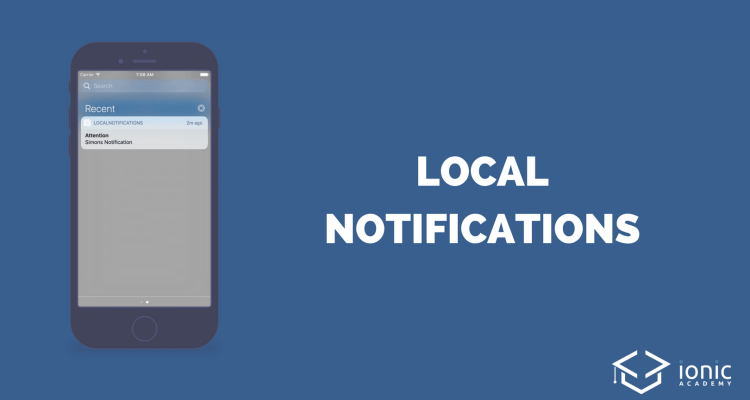 Ionic Local Notifications (Schedule, Payload and Callback) [v3