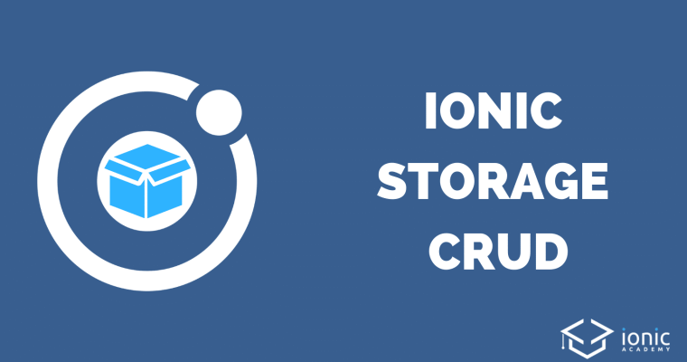 ionic-storage-crud