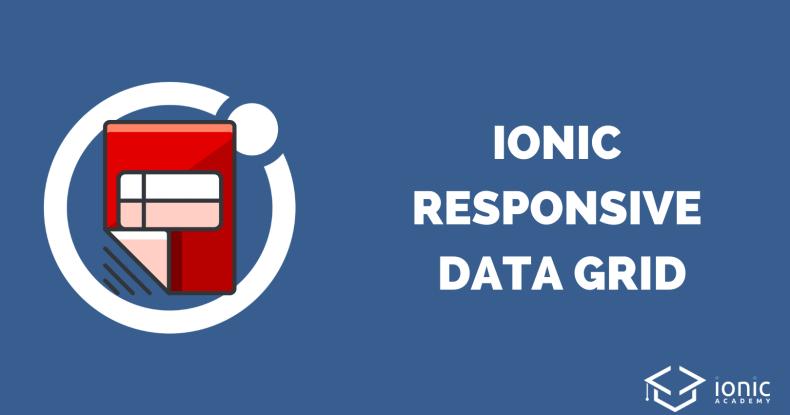 ionic-responsive-data-grid