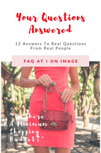 FAQ about image consulting and personal styling