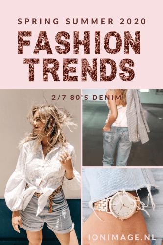 SS20 Fashion Trends: 80's Denim