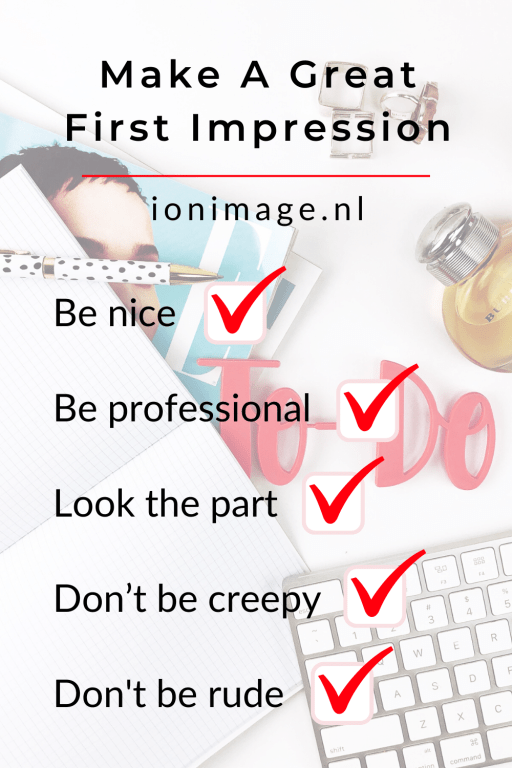 Learn to make a great first impression with Amsterdam-based image consultant Jenni at I on Image