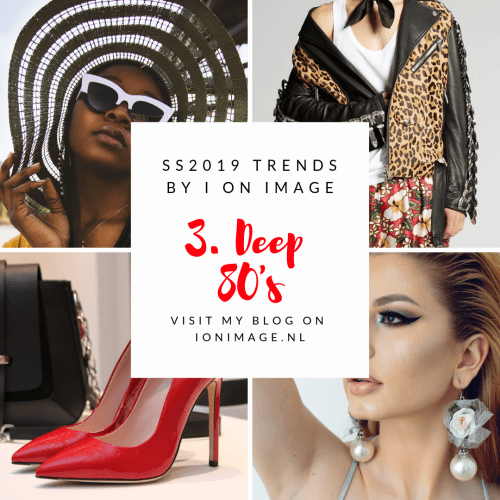 Spring Summer 2019 Fashion Trends 80's fashion