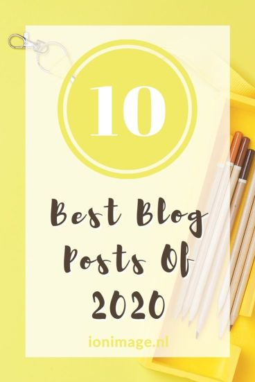 The Best Image & Style Blog Posts Of 2020 by I on Image - Pinterest 2