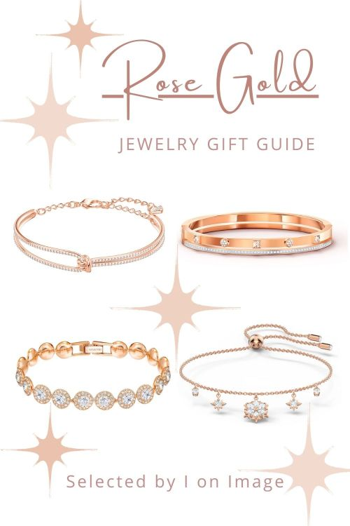 Bracelets - Amazing Swarovski Rose Gold Jewelry Gift Ideas For Mother's Day - selected by Personal Stylist & Personal Shopper Jenni at I on Image