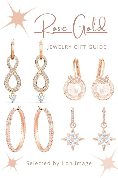 Earrings - Amazing Swarovski Rose Gold Jewelry Gift Ideas For Mother's Day - selected by Personal Stylist & Personal Shopper Jenni at I on Image