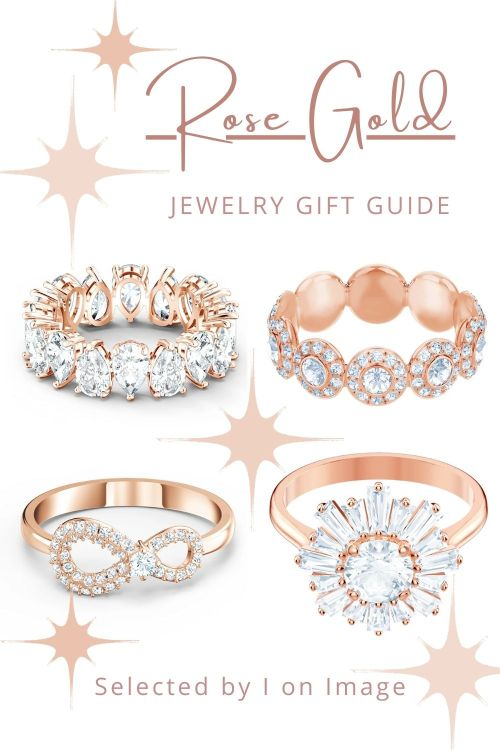 Rings - Amazing Swarovski Rose Gold Jewelry Gift Ideas For Mother's Day - selected by Personal Stylist & Personal Shopper Jenni at I on Image