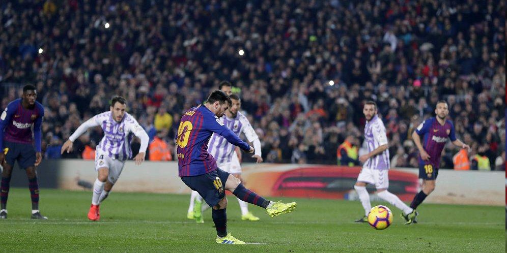 Valverde Beri Komentar Terkait Rumor Penurunan Performa Lionel Messi