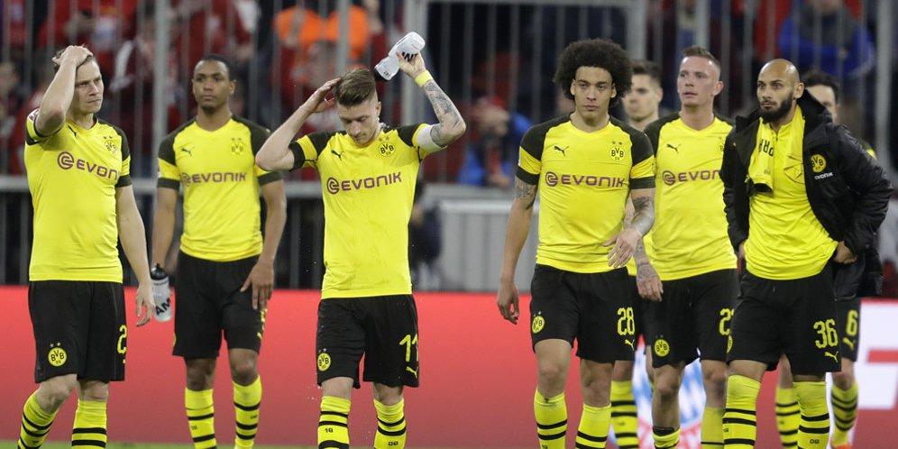 Dortmund Harus Tertunduk Lesu Lima Gol Tanpa Balas !