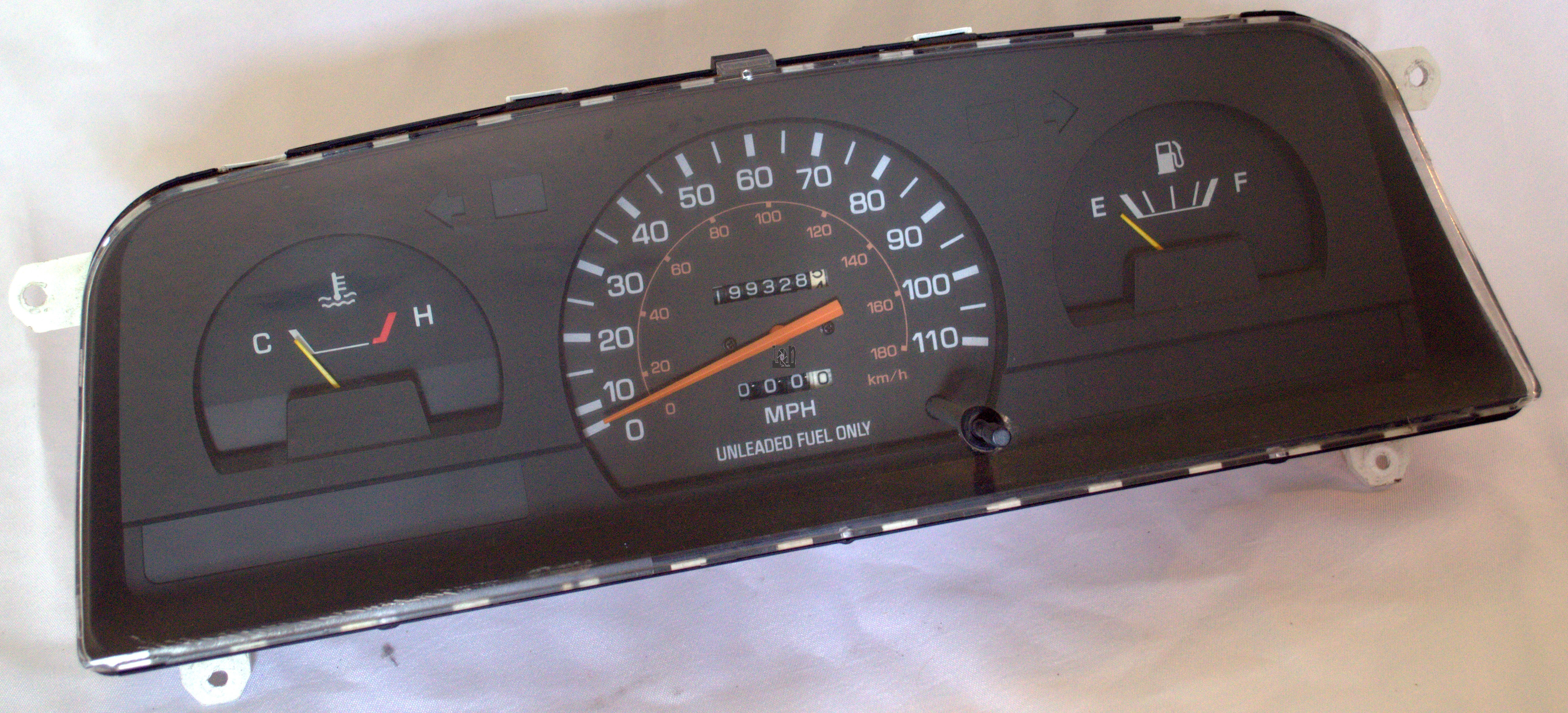 Toyota Pickup Speedometer Cluster Diagram Additionally 1990 Toyota
