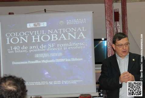 """Horia Gârbea : Deschiderea lucrărilor colocviului """"Șanse noi pentru literatura SF și F"""""""