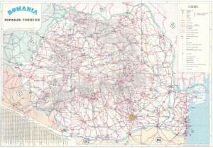 harta popasuri turistice