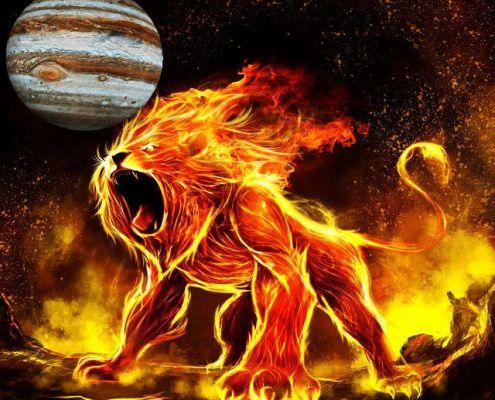 giove in leone