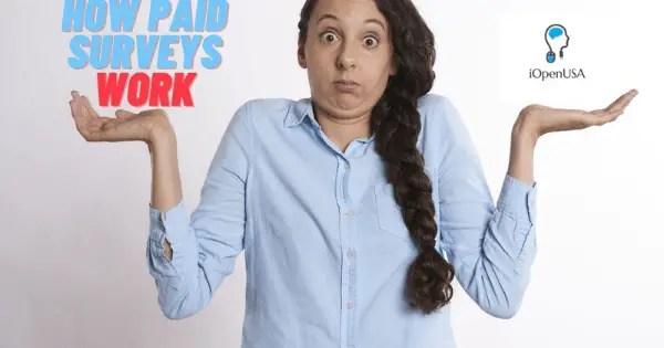 IOpenUSA how paid surveys works